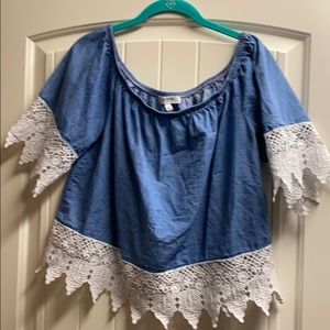 Cute top by Active USA Denim